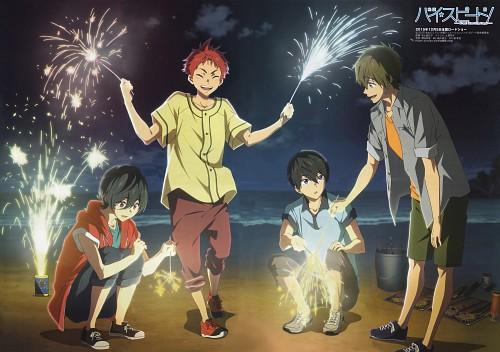 Maiko Hado, Kyoto Animation, Free!, Makoto Tachibana, Haruka Nanase (Free!)