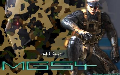 Konami, Metal Gear Solid, Solid Snake Wallpaper