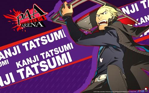 Anime International Company, Atlus, Shin Megami Tensei: Persona 4, Kanji Tatsumi, Official Wallpaper