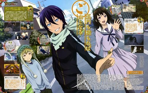 Komori Hideto, BONES, Noragami, Yato (Noragami), Hiyori Iki