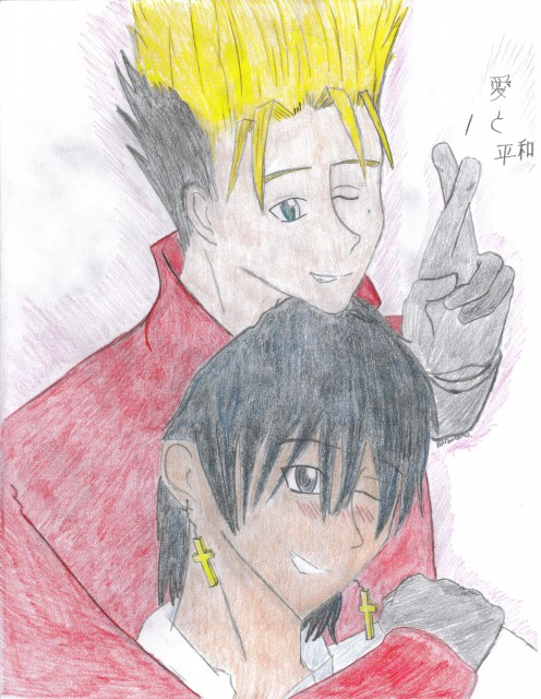 Madhouse, Trigun, Nicolas D. Wolfwood, Vash the Stampede, Member Art