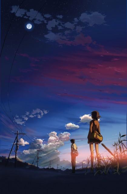 Makoto Shinkai, Five Centimeters Per Second, Takaki Tohno, Kanae Sumida