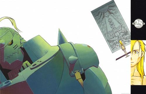 Hiromu Arakawa, Fullmetal Alchemist, Alphonse Elric, Manga Cover