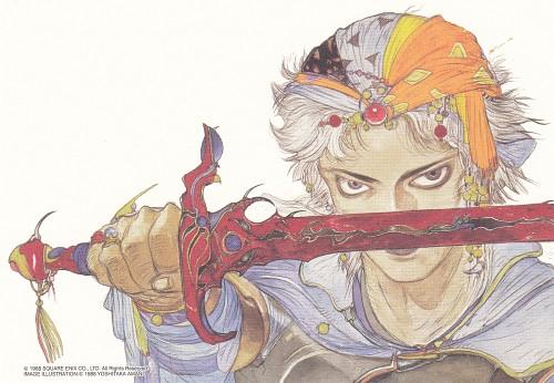 Yoshitaka Amano, Square Enix, Final Fantasy Dissidia, Firion, Postcard