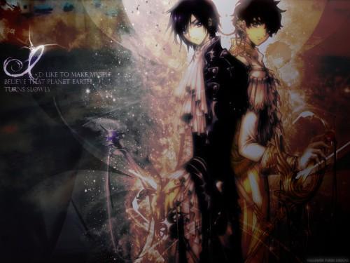 CLAMP, Sunrise (Studio), Lelouch of the Rebellion, Suzaku Kururugi, Lelouch Lamperouge Wallpaper