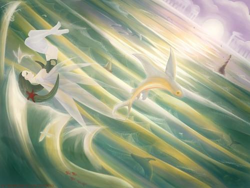 Hinoki Amamori Wallpaper