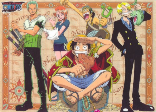 Eiichiro Oda, Toei Animation, One Piece, Monkey D. Luffy, Nami