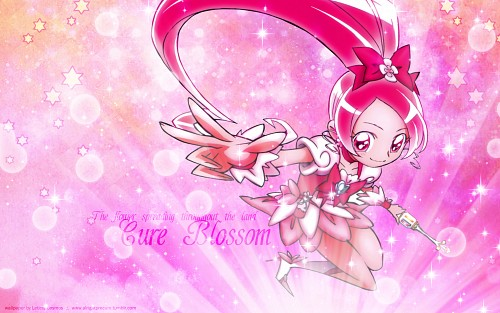 Toei Animation, HeartCatch Precure!, Cure Blossom Wallpaper