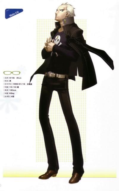 Shin Megami Tensei: Persona 4, Kanji Tatsumi