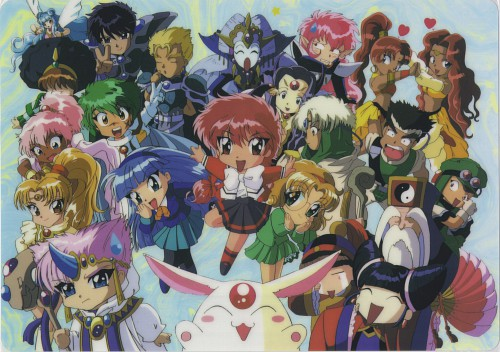 CLAMP, TMS Entertainment, Magic Knight Rayearth, Primera, Sang Yung
