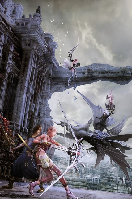 Square Enix, Final Fantasy XIII, Noel Kreiss, Lightning (FF XIII), Caius Ballad