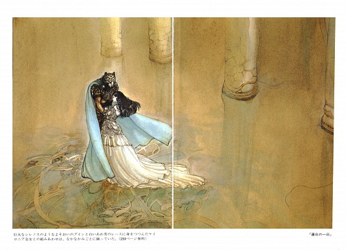 Yoshitaka Amano, Guin Saga, Guin