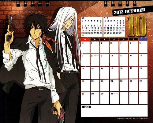 Akira Amano, Artland, Katekyo Hitman Reborn!, Katekyo Hitman Reborn! 2012 Calendar C, Xanxus