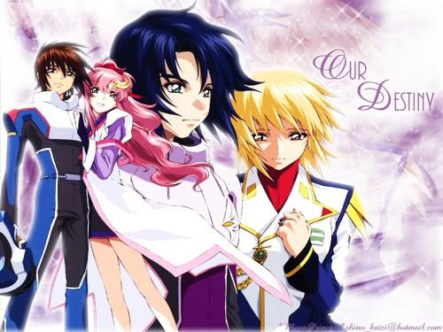 Sunrise (Studio), Mobile Suit Gundam SEED Destiny, Athrun Zala, Kira Yamato, Lacus Clyne Wallpaper