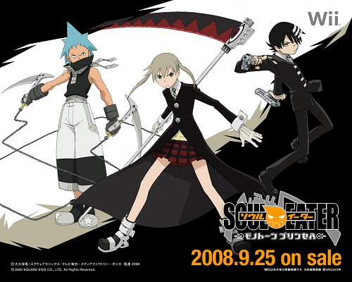 Atsushi Okubo, BONES, Soul Eater, Maka Albarn, Black Star