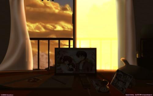 Kyoto Animation, Clannad, Ushio Okazaki, Tomoya Okazaki, Nagisa Furukawa Wallpaper