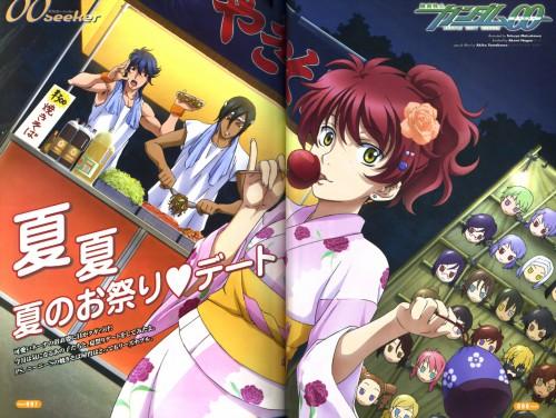 Sunrise (Studio), Mobile Suit Gundam 00, Nena Trinity, Michael Trinity, Johann Trinity