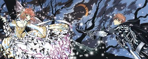 CLAMP, Tsubasa Reservoir Chronicle, Syaoran Li, Sakura Kinomoto, Vector Art