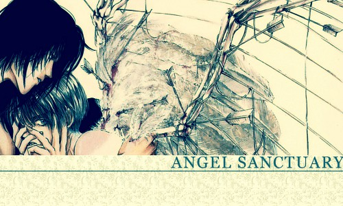 Kaori Yuki, Hal Film Maker, Angel Sanctuary, Setsuna Mudo, Lucifer (Angel Sanctuary) Wallpaper