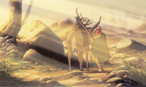 Hayao Miyazaki, Studio Ghibli, Princess Mononoke, Yakul, Ashitaka