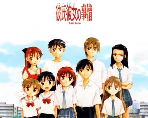 Masami Tsuda, Kare Kano, Hideaki Asaba, Maho Izawa, Tsubasa Shibahime Wallpaper