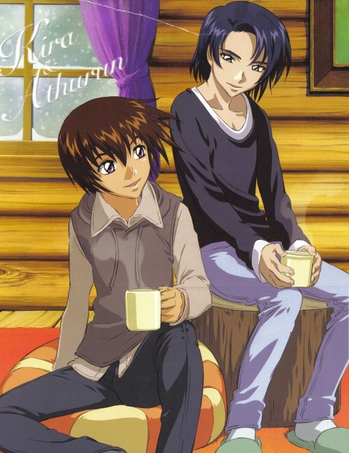 Sunrise (Studio), Mobile Suit Gundam SEED, Athrun Zala, Kira Yamato