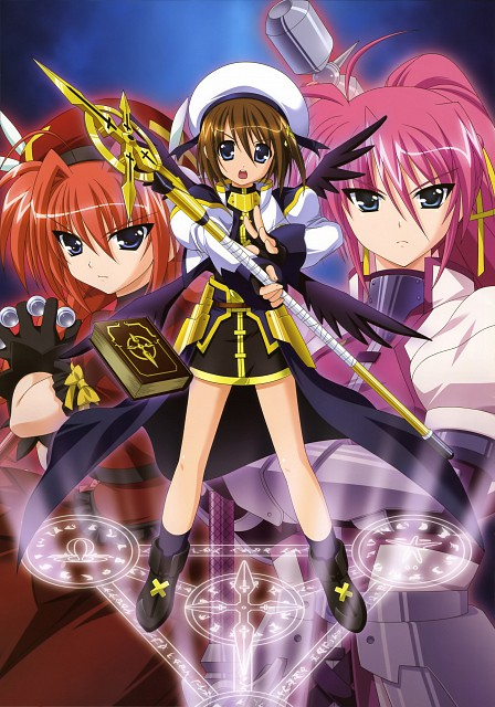 Yukari Higa, Seven Arcs, Mahou Shoujo Lyrical Nanoha, NYAN-TYPE 100% Illustrations Collection, Signum