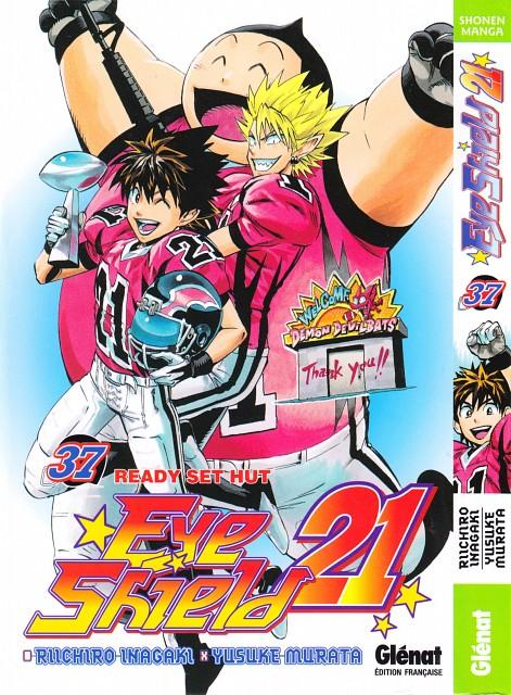 Studio Gallop, Eyeshield 21, Yoichi Hiruma, Sena Kobayakawa, Manga Cover
