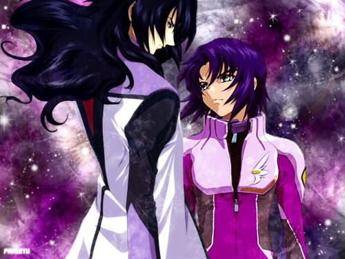 Sunrise (Studio), Mobile Suit Gundam SEED Destiny, Gilbert Durandal, Athrun Zala Wallpaper