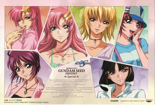 Youichi Fukano, Sunrise (Studio), Mobile Suit Gundam SEED Destiny, Meyrin Hawke, Lunamaria Hawke