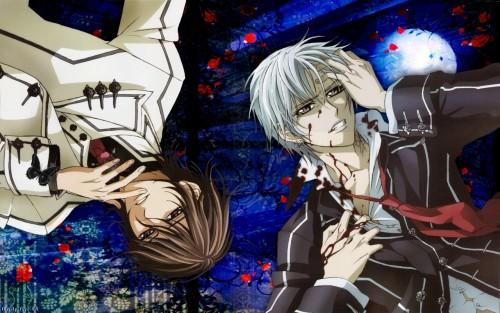 Matsuri Hino, Studio DEEN, Vampire Knight, Zero Kiryuu, Kaname Kuran Wallpaper