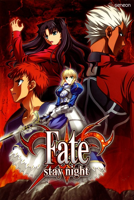 TYPE-MOON, Studio DEEN, Fate/stay night, Rin Tohsaka, Shiro Emiya
