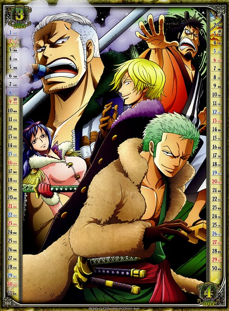 Eiichiro Oda, Toei Animation, One Piece, Roronoa Zoro, Smoker (One Piece)