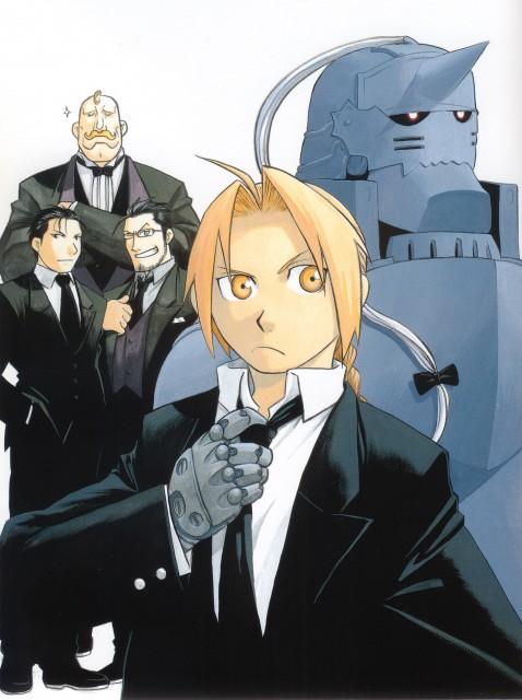 Hiromu Arakawa, BONES, Fullmetal Alchemist, Fullmetal Alchemist Artbook Vol. 2, Roy Mustang