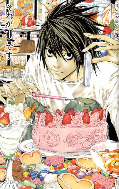 Takeshi Obata, Death Note, L