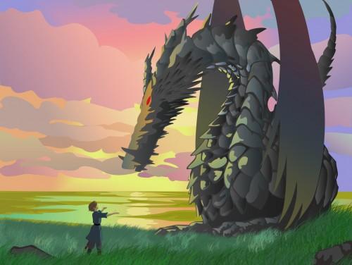 Studio Ghibli, Tales From Earthsea, Vector Art