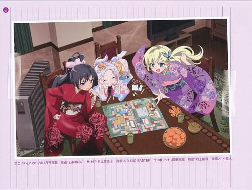 Buriki, Itachi (Mangaka), Anime International Company, Boku wa Tomodachi ga Sukunai, Maria Takayama