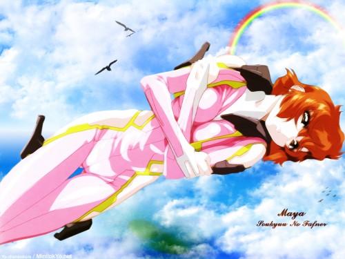 Hisashi Hirai, Xebec, Soukyuu no Fafner, Maya Toomi Wallpaper