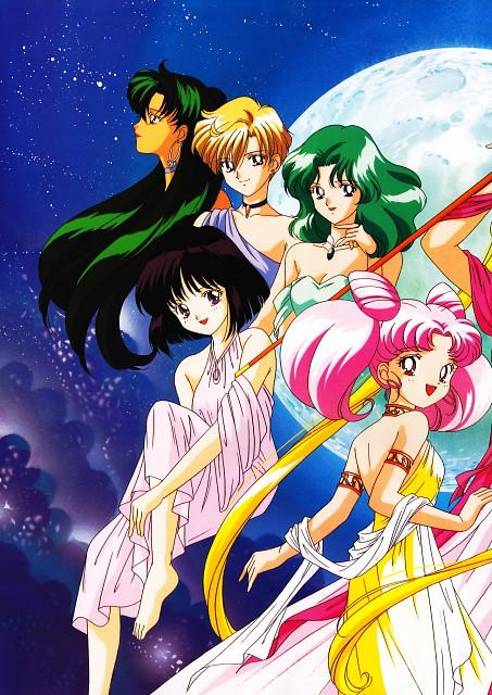 Toei Animation, Bishoujo Senshi Sailor Moon, Michiru Kaioh, Hotaru Tomoe, Setsuna Meioh