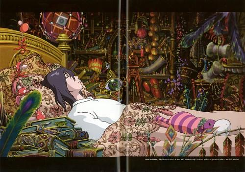 Studio Ghibli, Howl's Moving Castle, Sophie Hatter, Howl Jenkins