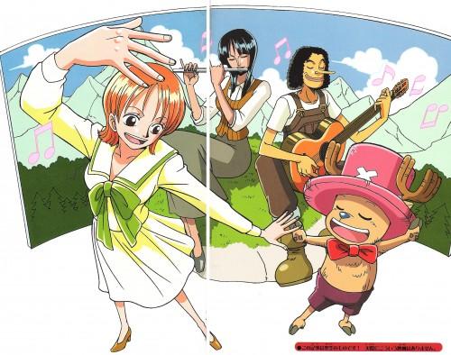 Eiichiro Oda, Toei Animation, One Piece, Nico Robin, Nami