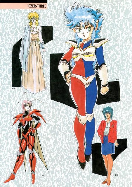 Toshihiro Hirano, Iczer One (Series), Iczer Three, Iczer-2, Nagisa Kanou