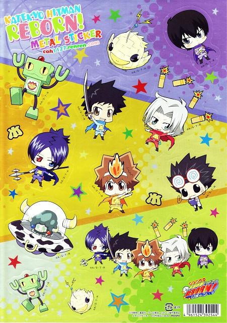 Akira Amano, Artland, Katekyo Hitman Reborn!, Kyoya Hibari, Leon (Katekyo Hitman Reborn!)