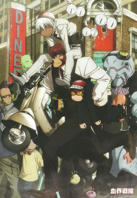 Kouji Sugiura, Yasuhiro Nightow, Kekkai Sensen, Klaus V. Reinhertz, Zapp Renfro