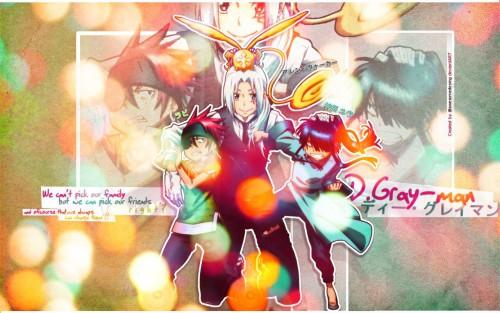 Katsura Hoshino, TMS Entertainment, D Gray-Man, Yu Kanda, Allen Walker Wallpaper
