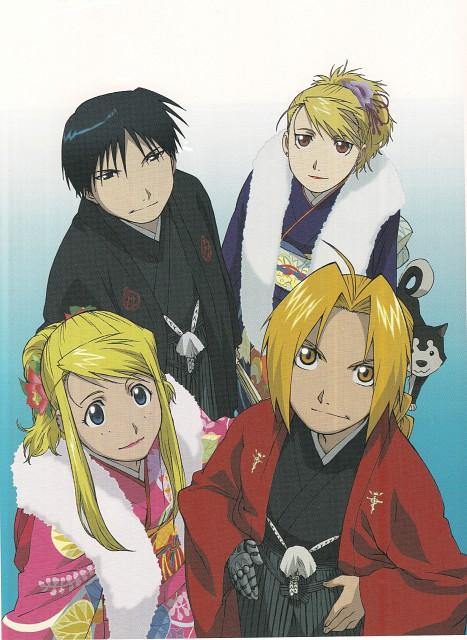 Hiromu Arakawa, BONES, Fullmetal Alchemist, Edward Elric, Riza Hawkeye