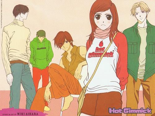 Miki Aihara, Hot Gimmick, Azusa Odagiri, Ryoki Tachibana, Shinogu Narita