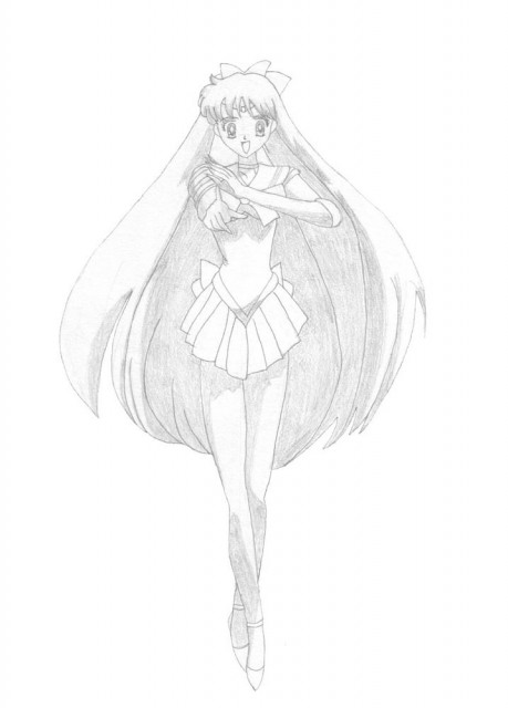 Toei Animation, Bishoujo Senshi Sailor Moon, Sailor Venus, Member Art