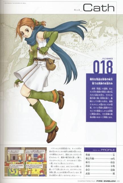 Eiji Kaneda, Nintendo, Fire Emblem, Cath