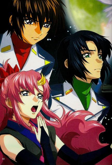 Sunrise (Studio), Mobile Suit Gundam SEED Destiny, Lacus Clyne, Athrun Zala, Kira Yamato